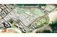 Supercars Photos - Newcastle Circuit map