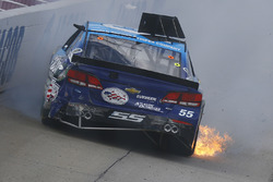 Reed Sorenson, Chevrolet crash