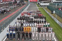 Blancpain Endurance Photos - Group photo with all drivers