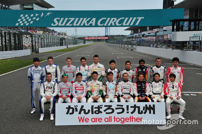 ドライバーグループ写真「がんばろう!熊本」