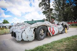 Fangio Mercedes artwork by Regazzoni