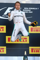 Formula 1 Photos - Podium: winner Nico Rosberg, Mercedes AMG F1 Team