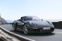 Porsche 718 Boxster S, il test