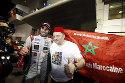 Race winner Mehdi Bennani, Sébastien Loeb Racing, Citroën C-Elysée WTCC with Yves Matton, Citroën Motorsport Director