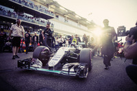 F1 写真 - Nico Rosberg, Mercedes AMG F1, 2016 World Championship Victory Behind-the-Scenes