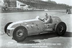 Race winner Johnnie Parsons