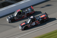 NASCAR Truck Photos - Christopher Bell, Kyle Busch Motorsports Toyota, Rico Abreu, ThorSport Racing Toyota