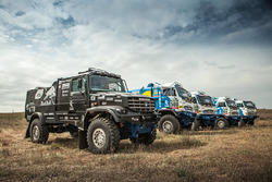 The new Kamaz Master Team truck
