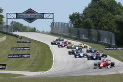 Start: Zach Veach, Belardi Auto Racing leads