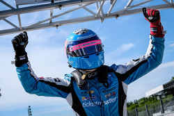 Race winner Max Defourny, R-ace GP in parc ferme