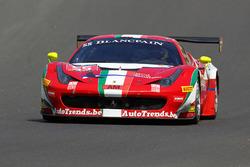 #55 AF Corse Ferrari 458 GT3: Claudio Sdanewitsch, Stéphane Lemeret