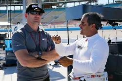 Max Papis and Juan Pablo Montoya, Team Penske Chevrolet