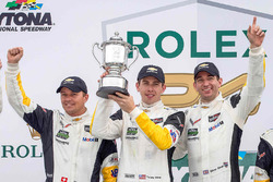 GTLM podium: winners Marcel Fässler, Tommy Milner, Oliver Gavin, Corvette Racing