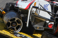 Formula 1 Photos - The car of Sergio Perez, Sauber F1 Team after his crash
