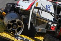 Formula 1 Photos - The car of Sergio Perez, Sauber F1 Team after his crash