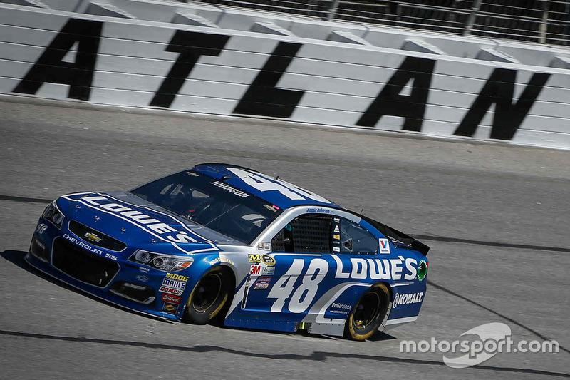 jimmie johnson hendrick motorsports chevrolet at atlanta nascar. Cars Review. Best American Auto & Cars Review