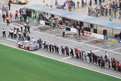 Dale Earnhardt celeberate his victory
