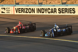 Scott Dixon, Chip Ganassi Racing Chevrolet, Tony Kanaan, Chip Ganassi Racing Chevrolet