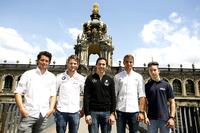 DTM Photos - Luca Ludwig, Marco Wittmann, Robert Wickens, Nico Müller, Mike David Ortmann