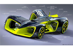 ロボレース レースカー(各所の名称入り)