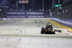Nico Hulkenberg, Sahara Force India F1 VJM09 crashed out at the start of the race