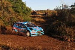 Henning Solberg, Ilka Minor, M-Sport Ford Fiesta WRC
