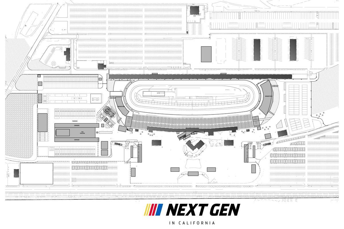 Next Gen Auto Club Speedway plan