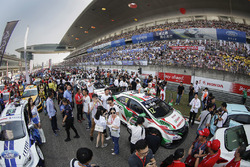 Ambiance on the starting grid