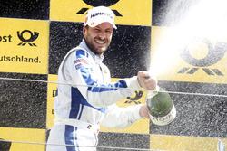 Podium: Gary Paffett, Mercedes-AMG Team ART, Mercedes-AMG C63 DTM with champagne