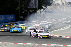 Start action, Christian Vietoris, Mercedes-AMG Team Mücke, Mercedes-AMG C63 DTM leads