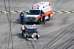 Joey Logano, Team Penske Ford crash