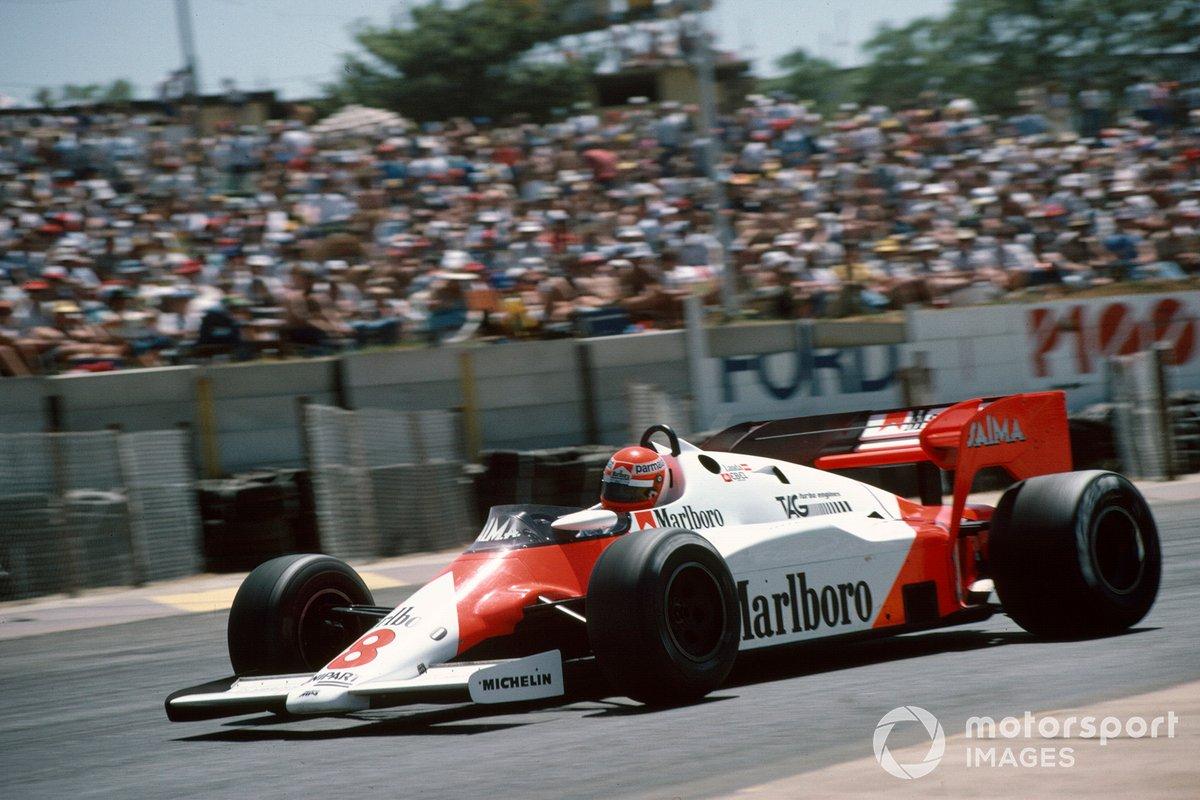 Niki Lauda, McLaren MP4-1E TAG