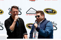 NASCAR Sprint Cup Photos - Channing Tatum and Jonah Hill