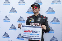NASCAR Sprint Cup Photos - Polesitter Martin Truex Jr., Furniture Row Racing Toyota