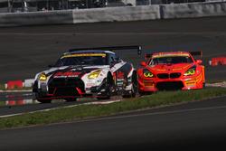 #3 Nddp Racing Nissan GT-R Nismo GT3: Kazuki Hoshino, Jann Mardenborough and #55 Autobacs Racing Team Aguri BMW M6 GT3: Shinichi Takagi, Takashi Kobayashi