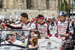 #5 Toyota Racing Toyota TS050 Hybrid: Kazuki Nakajima, Anthony Davidson, Sébastien Buemi