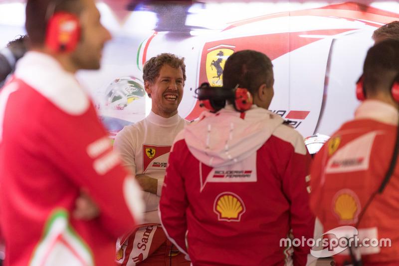 Sebastian Vettel,Ferrari driver