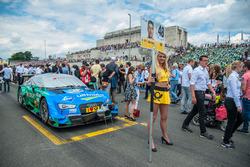 Grid girl, Edoardo Mortara, Audi Sport Team Abt Sportsline, Audi RS 5 DTM