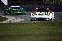 IMSA Photos - #912 Porsche Team North America Porsche 911 RSR: Earl Bamber, Frédéric Makowiecki