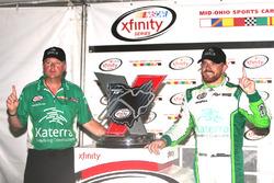 Race winner Justin Marks, Chip Ganassi Racing Chevrolet