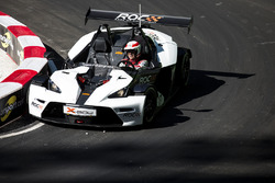 Tom Kristensen driving the KTM X-Bow Comp R
