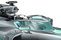 Formula 1 Photos - Head protection, closed