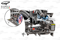 Formula 1 Photos - McLaren MP4/31 and Red Bull RB8 diffusers comparison, United States GP