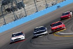 Brad Keselowski, Team Penske Ford; Brandon Jones, Richard Childress Racing Chevrolet; Darrell Wallace Jr., Roush Fenway Racing Ford