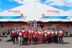 Bruno Senna, Mahindra Racing with Nick Heidfeld, Mahindra Racing and the Mahindra Racing team