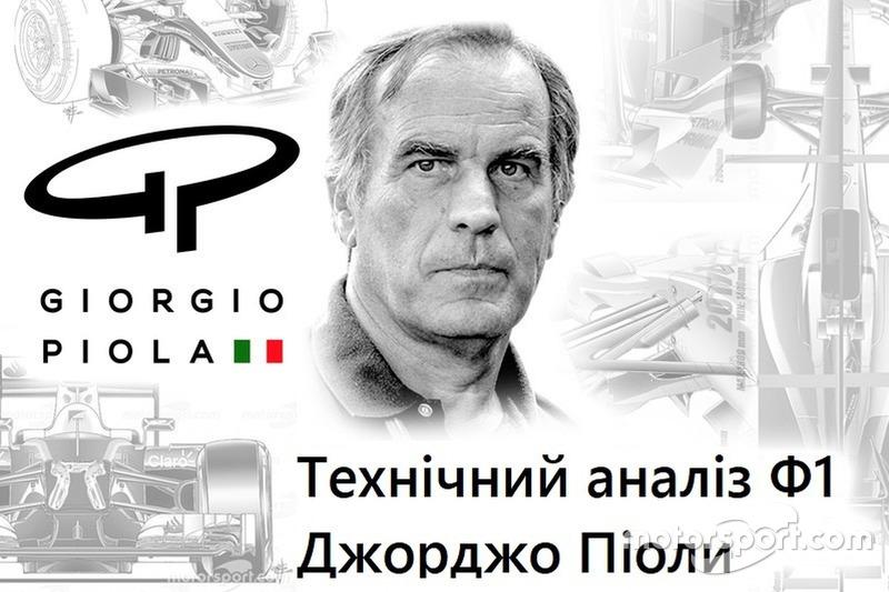 Формула 1 Технічний аналіз Ф1 Джорджо Піоли