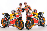 MotoGP Photos - Marc Marquez, Repsol Honda Team and Dani Pedrosa, Repsol Honda Team