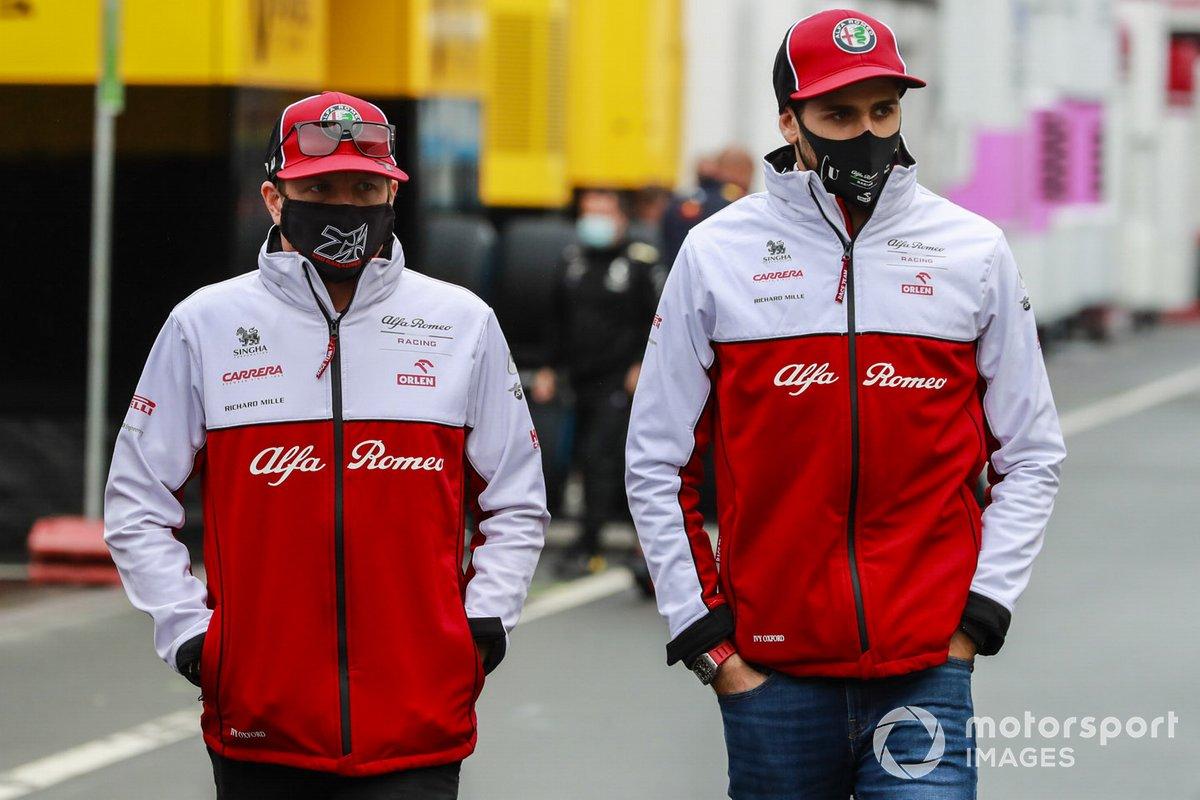 Kimi Raikkonen et Antonio Giovinazzi restent avec Alfa Romeo