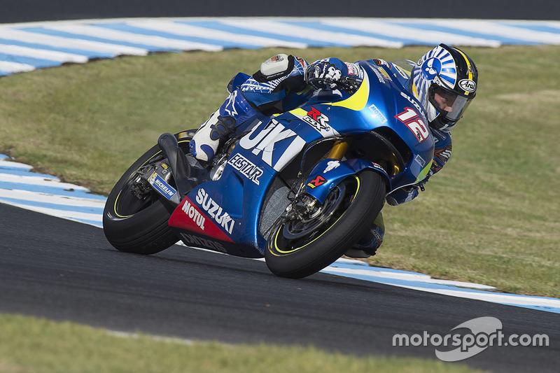 Takuya Tsuda, Team Suzuki MotoGP at Phillip Island February testing