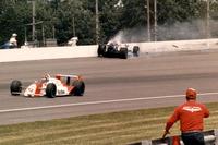 IndyCar Photos - Crash Al Unser Jr.